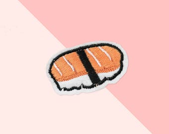 Ironfix patch sushi / DIY accessories embroidery / malicieuse shop