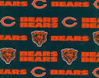 Pillow Bed with Chicago Bears fabric,  ONLY 1 left! Boy Pillow Bed, Pillow bed, Children's Pillow Bed, Pillow Mattress, Sleepover Bed