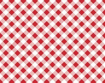 Sew Cherry 2 C5808-gingham red