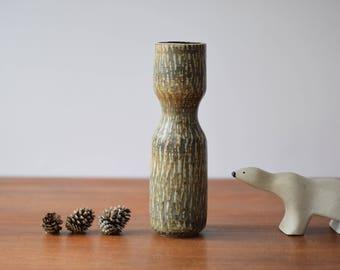 Gunnar Nylund for Rörstrand - RUBUS - Tall vase - Scandinavian midcentury pottery