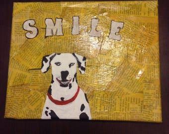 Dalmatian smile