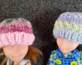 Knit Hats for 9 inch Dolls