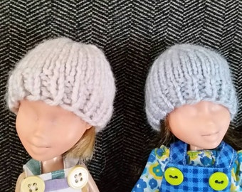 Soft Knit Hats for 9 inch Doll