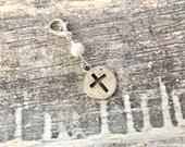 Valentines Day Sale Cross Planner Charm-Gift Idea Midori Fauxdori kiki k Filofax