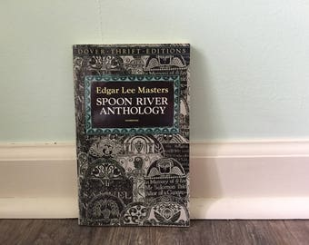 "Edgar Lee Masters ""Spoon River Anthology"" paperback book"