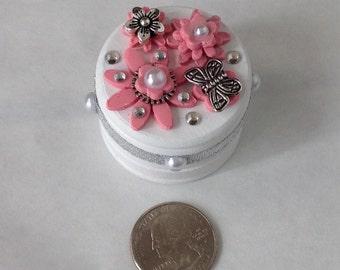 Engagementring box / proposal/ trinket box unique valentines gift box