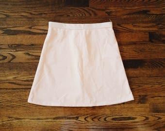 Vintage Simple A Line Peach Skirt