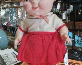 1960s Campbells Kids Girl Doll