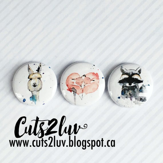 "3 badges 1 ""animal friends"