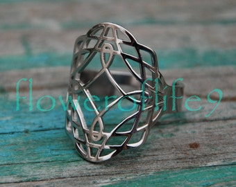 Celtic Knots ring - Stainless Steel