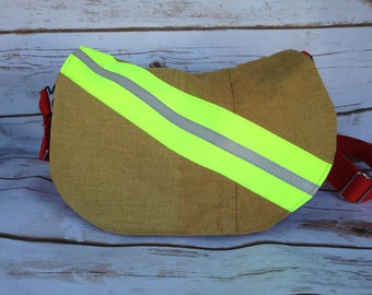 Firefighter purse made from NEW bunker gear