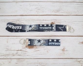 Dallas Cowboys Key Fob and Lanyard