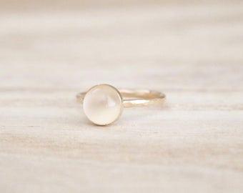 Moonstone stacking ring, moonstone ring, stacking ring, stacker ring, gold ring, dainty gold ring, stackable ring, gold rings, moonstones