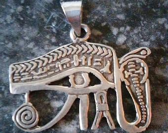 Silver Eye of Horus from Egypt