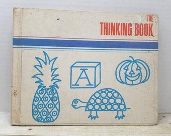The Thinking Book, 1970, Adelaide Hall, Dagmar Wilson, vintage kids book