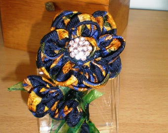 MEMORY FLOWERS - Silk and fabric flowers Up-cycled from Cherished garments