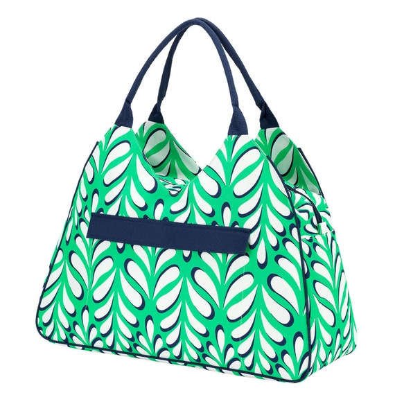 Island Palm beach bag  Ultimate tote bag navy blue oversized bag monogrammed tote bag beach bag pool bag summer bag monogrammed gift