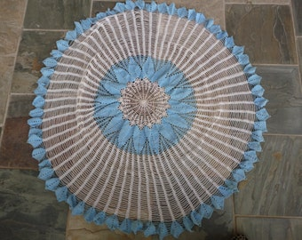 Hand Crocheted Doily Tablecloth