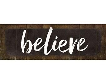 MA2305 - Believe - 18 x 6