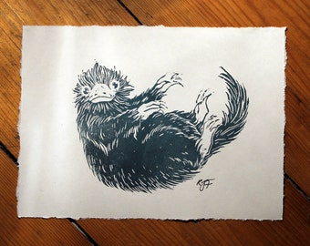 Fantastic Beasts And Where To Find Them Niffler Art Print
