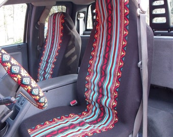 fleece car seat covers by chailinsews on etsy. Black Bedroom Furniture Sets. Home Design Ideas