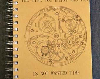 Clockwork Journal, Clockwork Sketchbook, Art Journal, Steampunk Journal, Steampunk Sketchbook, Handmade Journal, Handmade Sketchbook