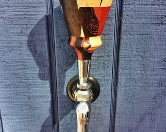 "Keg Tap Handle ""The Thinker"""