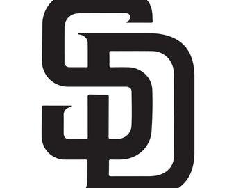 San Diego Padres Vinyl Sticker