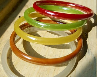 INDIAN GLASS BANGLES / bracelet / Boho bangles / stackable bangles /gifts for her