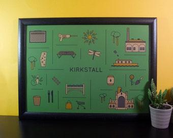 Kirkstall Travel Print