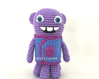Home Movie OH Dreamworks Crochet Amigurumi doll