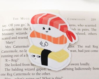 Sushi Magnetic Bookmark (Jumbo)