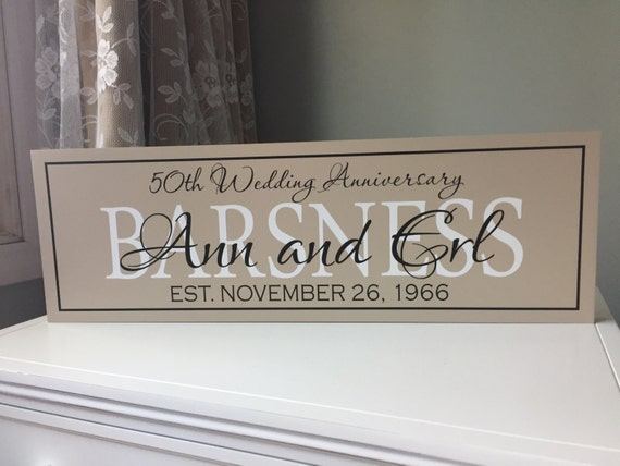 50th wedding anniversary gift anniversary gift for parents 25th
