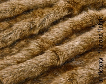 Faux Fur Tip Dyed Red Wolf- Fabric - Shag, Crafts, Sewing, Baby & Pet  Photo Props