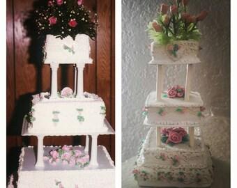 Custom Wedding Cake Replica Ornament By Rachelsrascles On Etsy