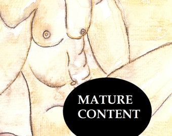 PENIS ERECTION ART full frontal nudity man nude men erotica erection sex sexuality artwork sexual subject matter tasteful porn pornography