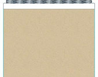Kraft Paper Mini Banner Kit