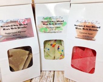 Brittle Wax Melts, Premium Soy Wax Blend, Scented Soy Blend Melts, Wax Melts, Wax Tarts, Brittle