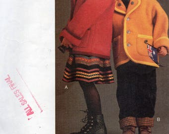 Vogue For Me Pattern 9108 JACKET SKIRT & PANTS Boys/Girls Sizes 5 6 6X
