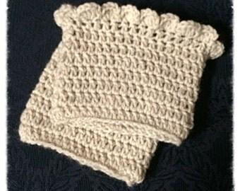 Crochet BOOT CUFFS, Bootcuffs, Leg Warmers