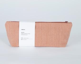 SALE - organic cotton wash bag