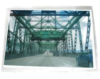 Bridge Oregon Washington Print unMatted 5 x 7 West coast print art Print photo print photograph five by seven unmatted print