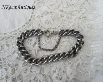 Antique bracelet for charms