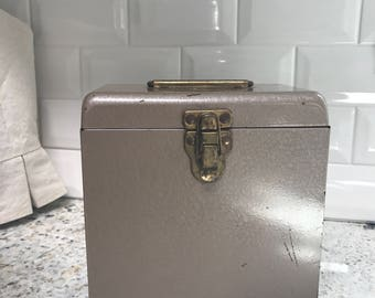 Amberg File & Index - Abfiel Metal File Box
