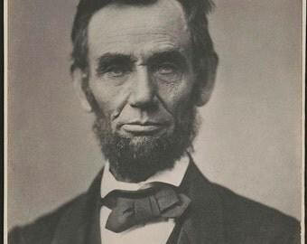Portrait of President Abraham Lincoln, Washington, D.C.
