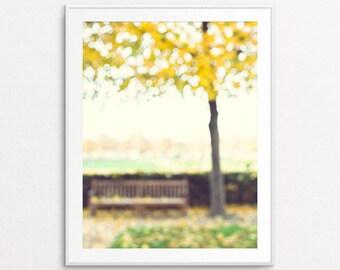 Paris Photography - Autumn in Paris, Dreamy Paris, Paris Decor, Paris Bedroom Decor, Fine Art Photography, Paris Wall Art, Paris Print