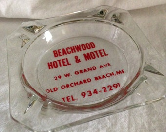 Beachwood Hotel and Motel Old Orchard Beach, Maine Ashtray