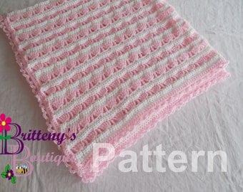 Crochet Baby Blanket Pattern / Crochet Baby Girl Blanket Pattern / Crochet Blanket Pattern / Crochet Sea Shell Princess Baby Blanket Pattern