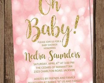 Baby Boy Baby Shower Invitation No Pink Allowed Diy