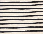 1 yard WONDERLAND by Rifle Paper Co. for Cotton and Steel Cheshire Stripe White